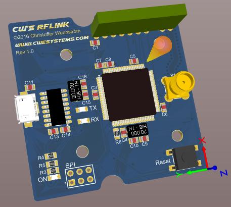 My custom USB RFLink gateway – CWESystems